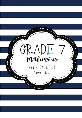 Grade 7 - Mathematics - Revision Book - Term 1 & 2