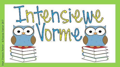 Intensiewe Vorme (Gr.5 - AFR HT. - Kw #3 & #4)