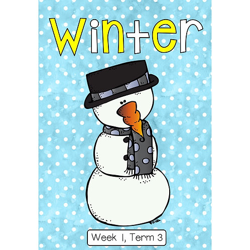 GRADE R THEME PACKAGE - WINTER - TERM 3
