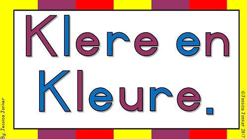 Klere & Kleure (Gr.1 - AFR EAT. - Kw #1)