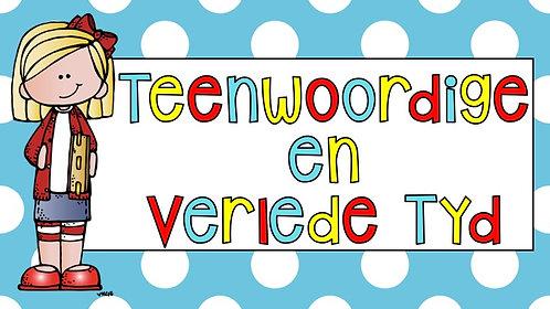 TEENWOORDIGE & VERLEDE TYD MUURKAARTE - AFR HT. & AFR EAT. KWARTAAL 1 - 2020