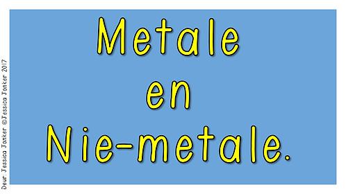Metale & Nie-metale (Gr.5 - NW - Kw #2)