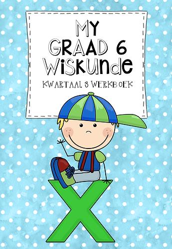 MY GRAAD 6 WISKUNDE KWARTAAL 3 WERKBOEK - 2020