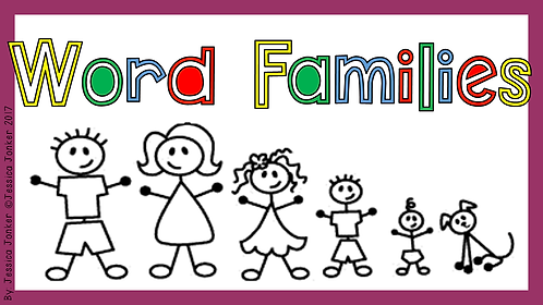 Word-sound Families (Gr. 3 - ENG HL. - Term 2)