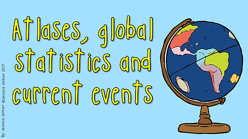 Atlases, current events & global statistics (Gr.6 - SS - Term 1)