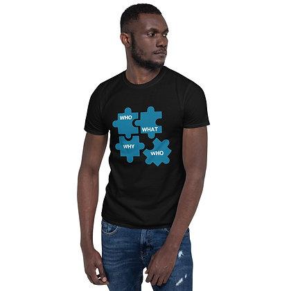 Clarity Questions Short-Sleeve Unisex T-Shirt - Black