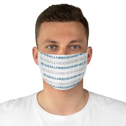 #WeAllNeedSomeHelp Fabric Face Mask