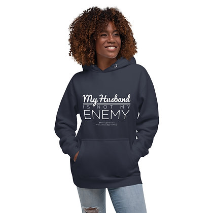 MY HUSBAND IS NOT MY ENEMY Hoodie
