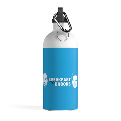 Breakfast with The Brooks Stainless Steel Water Bottle
