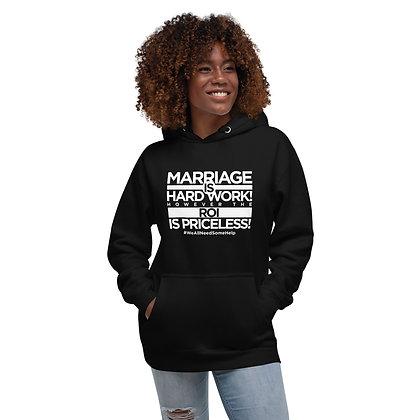 Marriage ROI Black Unisex Hoodie