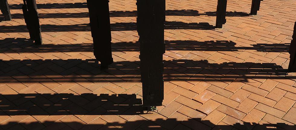Detail of 'Release' by Marco Cianfanelli. Photo by Matthew Willman
