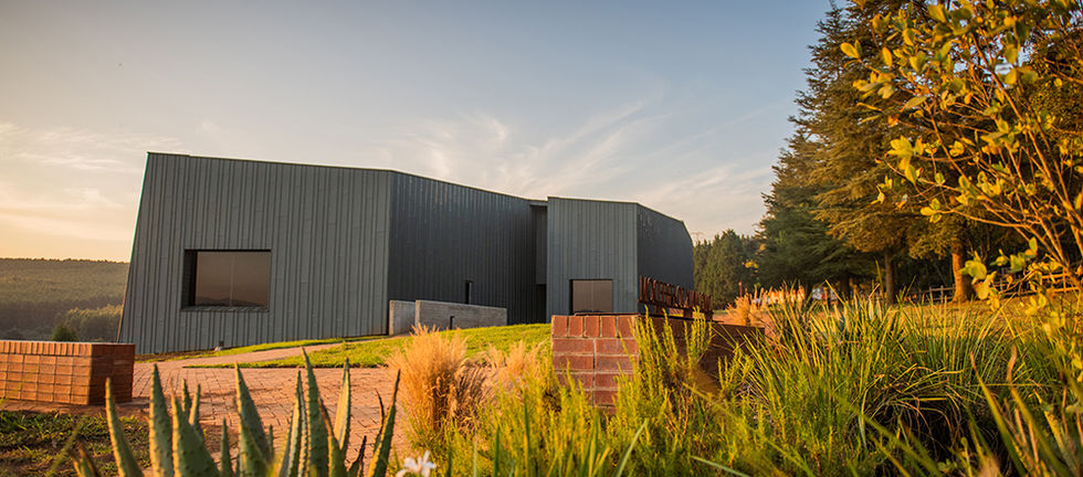 The Nelson Mandela Capture Site Visitor Centre. Photo by Chris Allan