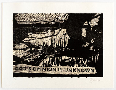 God's Opinion is Unknown