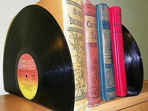 Vinyl Record Book Holder