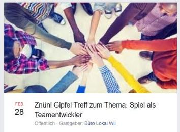 Teambildung mittels Spiel