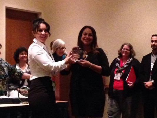 Buffalo CHW and past CHWNB Board Co-Chair given CHW of the Year Award!