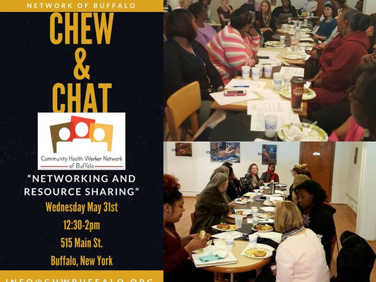 Chew & Chat: Wednesday May 31