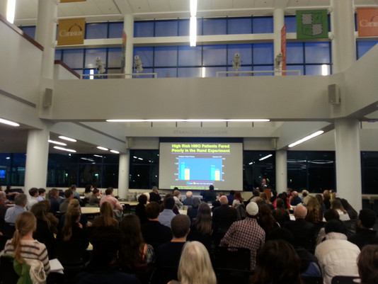 """Dr. Andy Coates and """"Is Healthcare SICK?"""" Community Forum"""