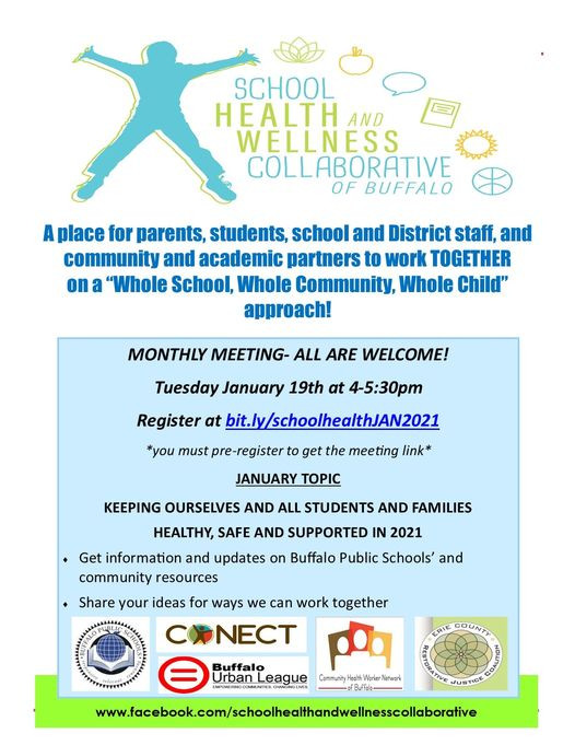 School Health and Wellness Collaborative January meeting