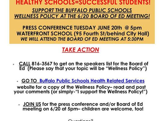 HEALTHY SCHOOLS = SUCCESSFUL STUDENTS!