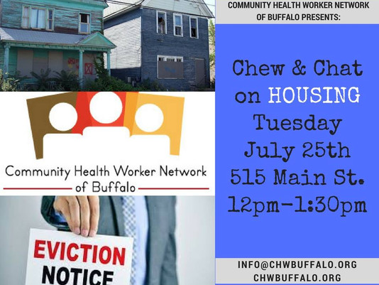Chew & Chat next Tuesday, July 25th