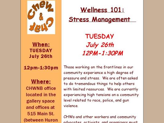 July Chew & Chat Next Week!