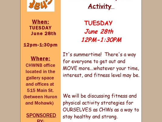 Chew & Chat next Tuesday!