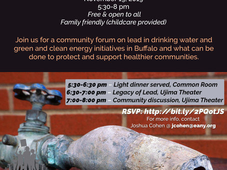 Join us for 'Legacy of Lead' and Community Forum on Nov. 19