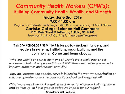 Don't miss the Stakeholder Seminar on June 3!