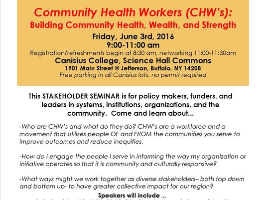 Don't miss the Stakeholder Seminar on June 3!