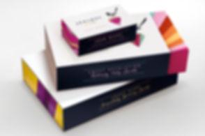 warrington business card design