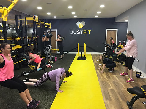 justfit uk personal training bolton