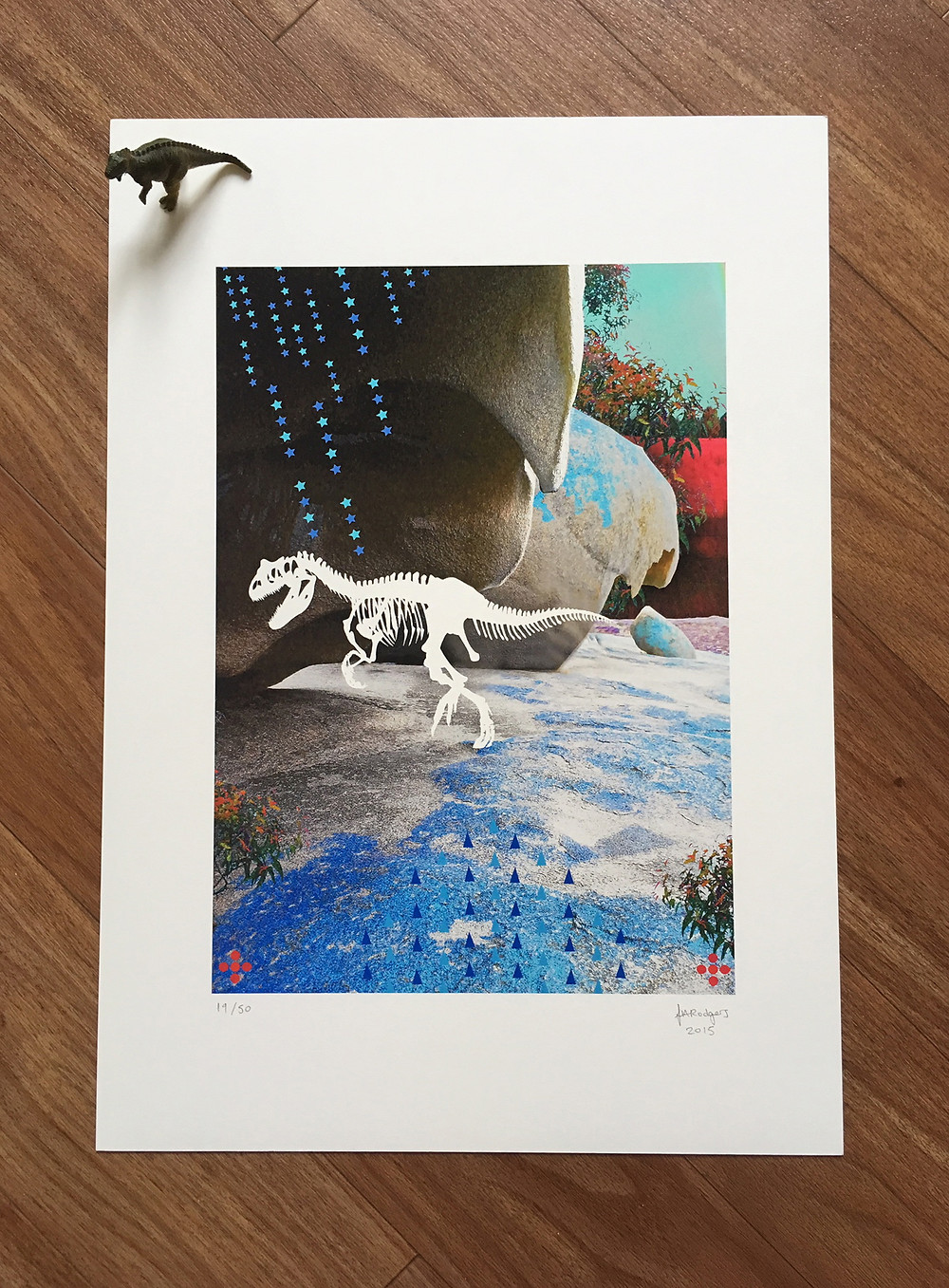 King Lizard Limited Edition Giclée Print