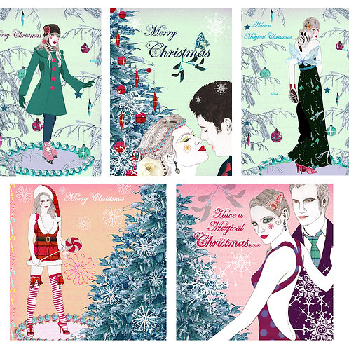 CHRISTMAS ASSORTED GREETING CARD PACK