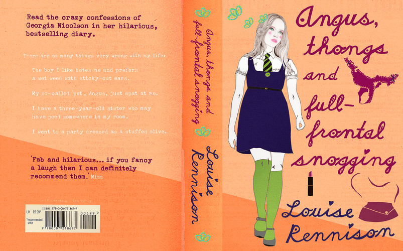 ANGUS, THONGS & FULL-FRONTAL SNOGGING - LOUISE RENNISON