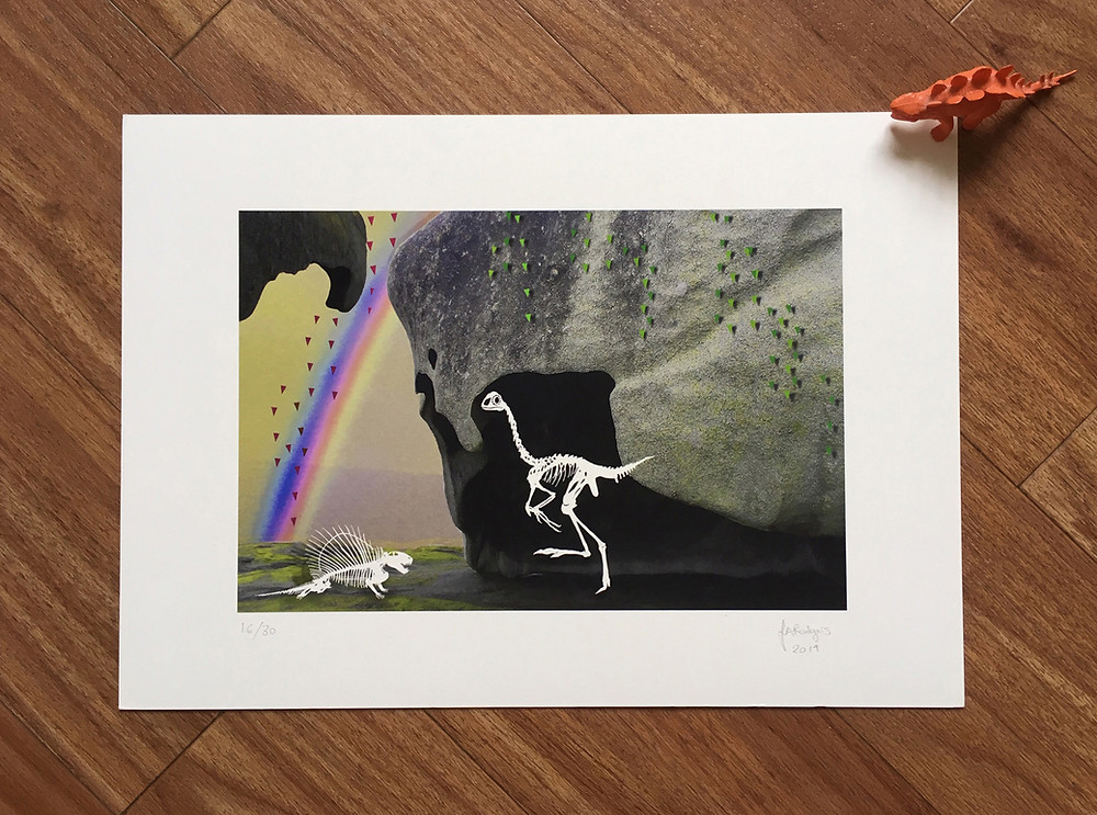 Rainbows & Caves Limited Edition Giclée Print