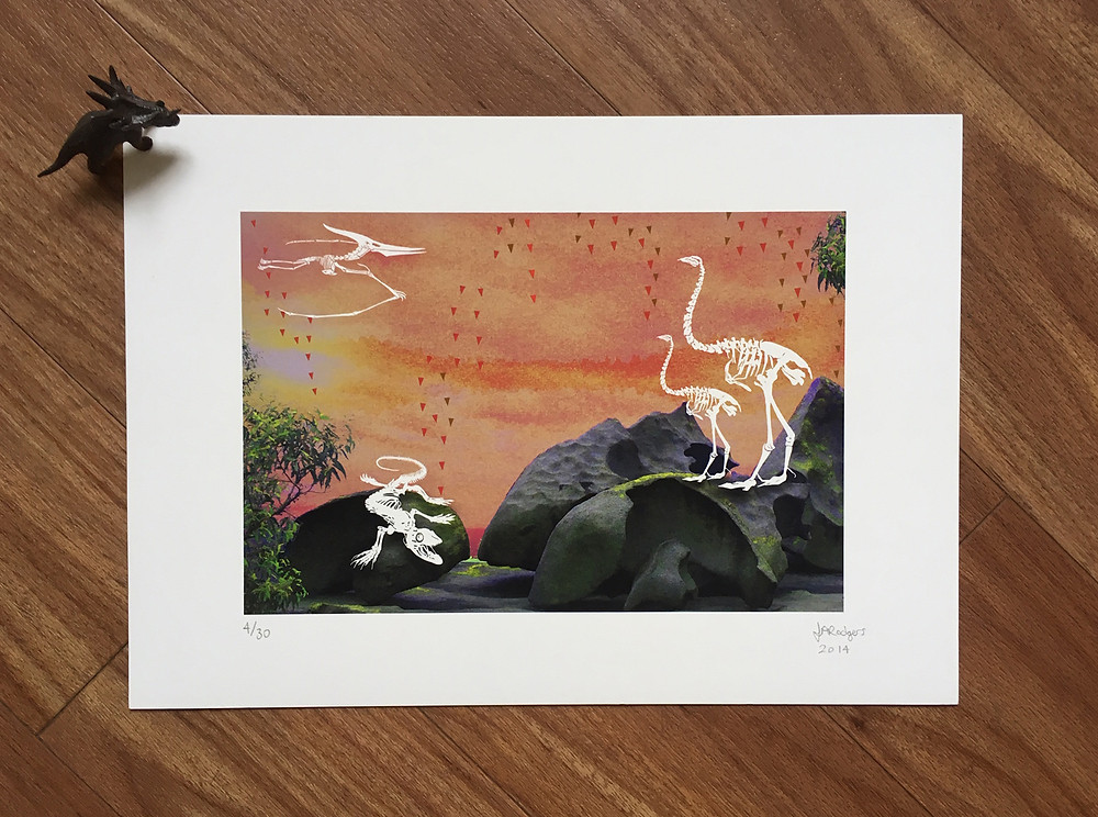 Sunset Limited Edition Giclée Print