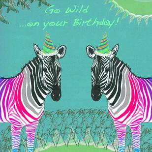 GO WILD...ON YOUR BIRTHDAY