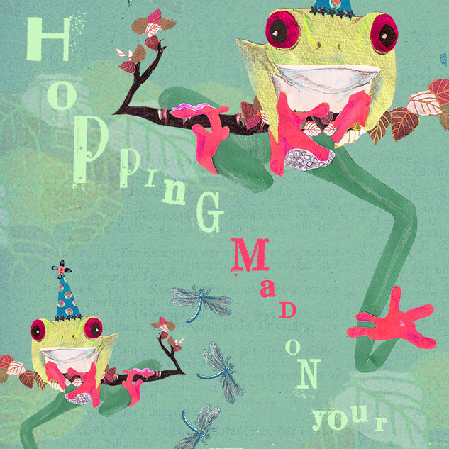 GO HOPPING MAD ON YOUR BIRTHDAY