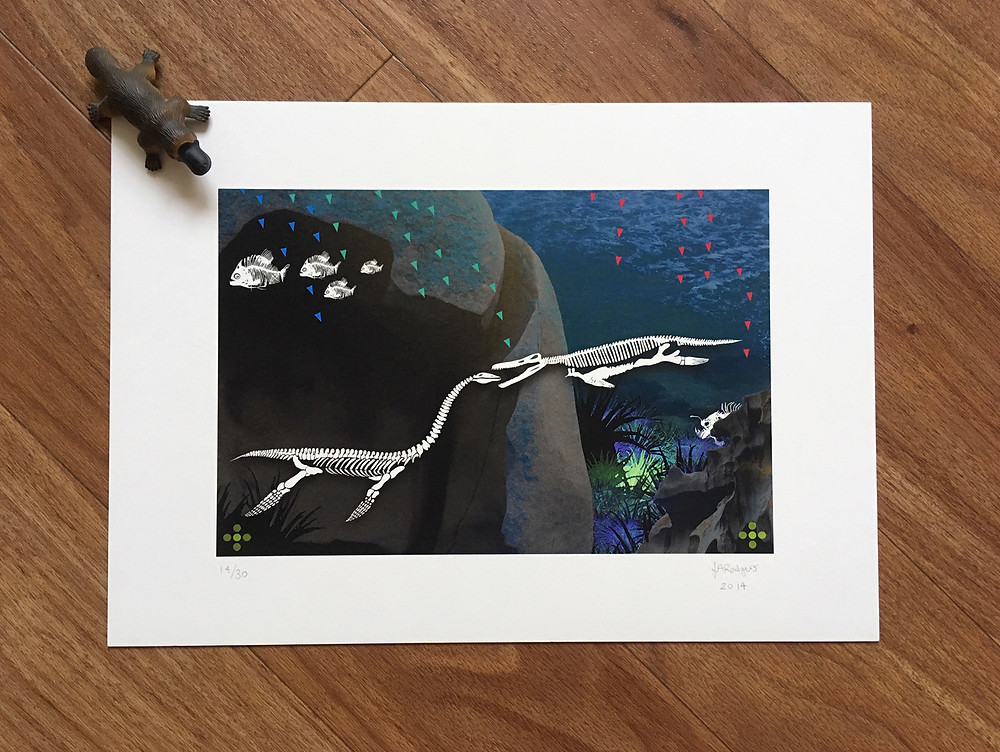 In The Deep Limited Edition Giclée Print