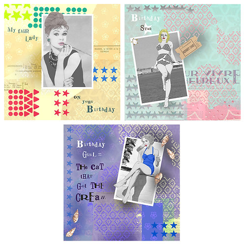 IRRESISTIBLE ICONS ASSORTED GREETING CARD PACK