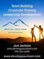 Develop Your Team