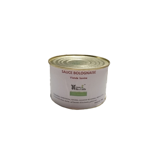 Sauce Bolognaise 50% de boeuf