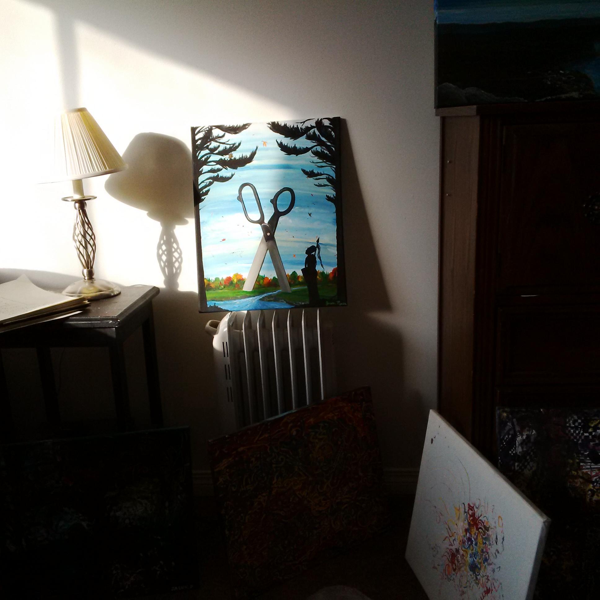 Radiator and Art