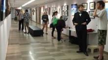 "Reception / art talk. ""Art in Upper Canada exhibit"""
