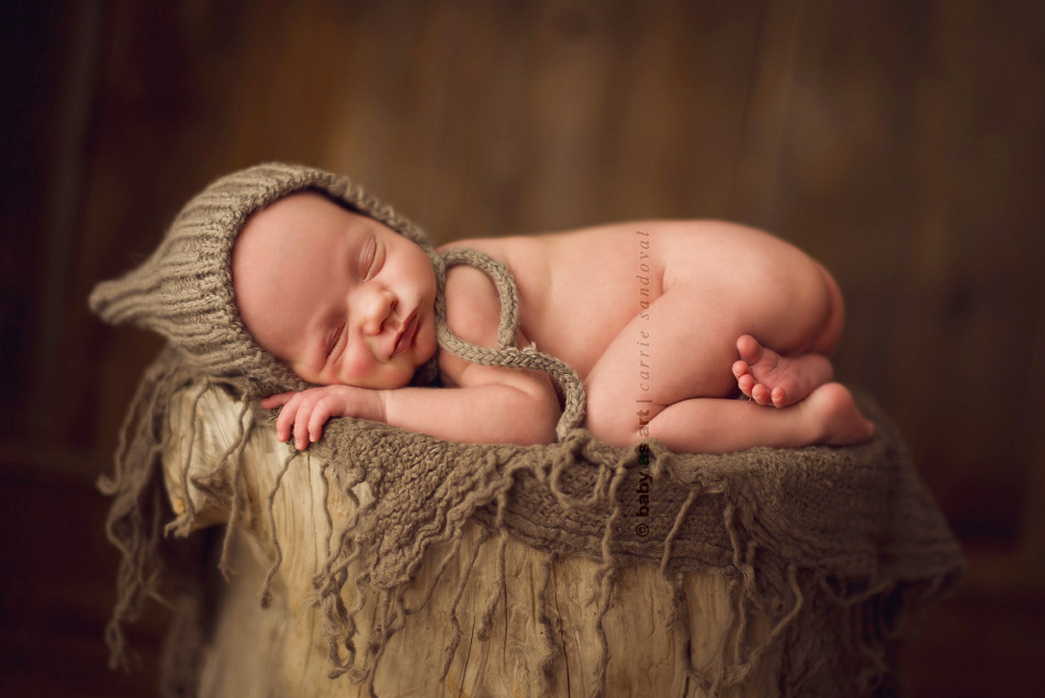 Image by Carrie Sandoval - who ignited my passion for newborn photography