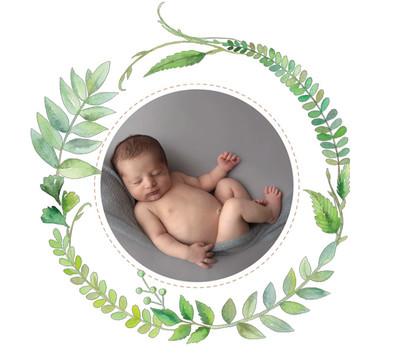 newborn boy grey