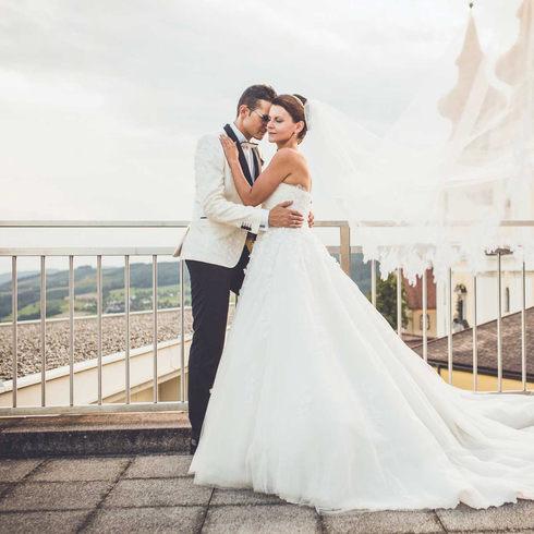 Hochzeit beim Hotel Schachner in Maria Taferl