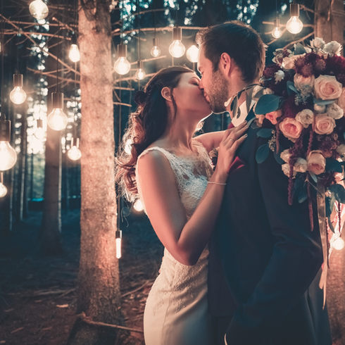Light Bulb After Wedding Shooting inShot