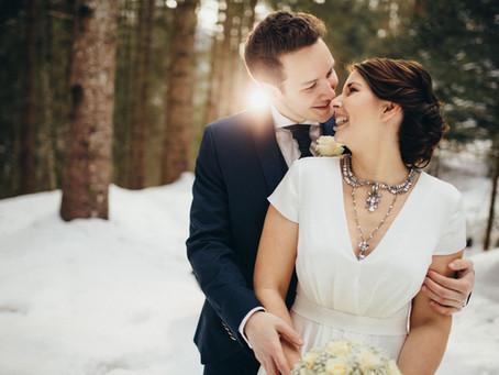 Anja & David - Winterhochzeit in Niederösterreich